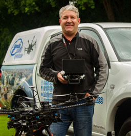 Nick Edwards, founder of yonda aerial systems ltd